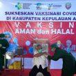 Bupati Johan Gonga Jadi Orang Pertama Disuntik Vaksin Covid-19 Di Aru