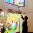 Brimob Sterilkan Sejumlah Gereja Di Ambon