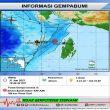 BMKG: Getaran Gempa M 5,2 & 5,7 Terasa III MMI Di Dobo