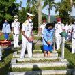 Jelang Hari Dharma Samudera, Lantamal Ambon Ziarah & Tabur Bunga