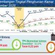 Desember 2020, BPS: TPK Jasa Akomodasi Di Maluku 23,27 Persen
