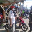 Patroli Harkamtibmas, Brimob Maluku Sambangi  Pangkalan Ojek Edukasi Protokol Kesehatan