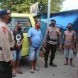 Brimob Maluku Kembali Ajak Para Sopir Untuk Patuhi Protokol Kesehatan