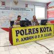 Wujudkan Zona Integritas WBK & WBBM, Ini Langkah Kapolda Maluku