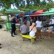 PRC Polda Maluku Sambangi Kawasan Rekreasi
