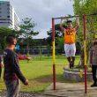 Satu Casis SIPSS Polda Maluku Ikuti Tes Kesamaptaan Jasmani