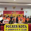 Ini Ancaman Hukuman 6 Tersangka Penjual Senpi & Amunisi Ke Papua