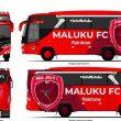 Awal April, Bus Maluku FC Tiba Di Ambon