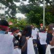 Mahasiswa Sabuai Datangi Kejati Maluku