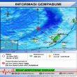 Gempa M 4,3 Berpusat Di Posisi 127 Km Utara Tepa