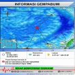 Gempa M 4,2 Terjadi Di Kawasan Laut Banda