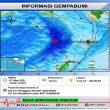 Gempa M 5,7 Terjadi Di Kawasan Laut Banda