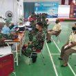 Prajurit & PNS Lantamal Ambon Divaksin, Danlantamal: Tetap Terapkan Protokol Kesehatan