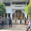 Brimob Maluku Jaga Ketat Ibadah Jumat Agung di Sejumlah Gereja