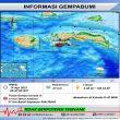 Gempa M 3,7 Guncang Kairatu, BMKG: Getaran Terasa II – III MMI