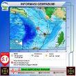 Gempa M 5,1 Terjadi di Wilayah Malra