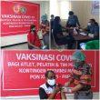Atlet, Pelatih & Tim Pendukung Pelatda KONI Maluku Jalani Vaksinasi Covid-19 Dosis Kedua