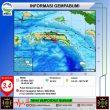 Gempa M 3,4 Terjadi Di Wilayah Laut Banda