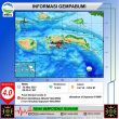 Gempa M 4,0 Guncang Saparua