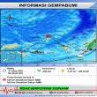 Gempa M 4,8 Terjadi di Wilayah Laut Banda