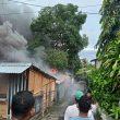 Kantor Yayasan Pelangi Maluku Dilalap Api