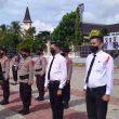 Pimpin Apel Gelar Pasukan Operasi Ketupat, Kapolda Maluku Sampaikan Pesan Kapolri