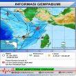 Gempa M 4,3 Terjadi di Wilayah Laut Arafura