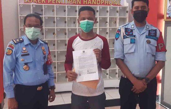 Napi Kasus Pembunuhan Pacar di Penginapan Bidadari Bebas Bersyarat