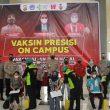 Polda Maluku Intensifkan Vaksinasi di Kampus