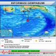 BMKG: Gempa M 4,9 Terjadi di Wilayah Laut Banda
