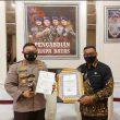 PPKM Mikro Terbaik, Gubernur Maluku Peroleh Penghargaan dari Kapolri