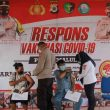 Polda Maluku Kembali Vaksinasi 517 Orang