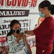 Polda Maluku Layani Vaksinasi 296 Warga