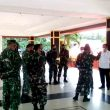 Wali Kota Ambon & Danrem Binaiya Tinjau Persiapan Lokasi Serbuan Vaksinasi