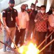 BNNP Maluku Musnahkan Ratusan Gram Narkoba