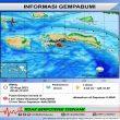Getaran Gempa M 2,8 Terasa di Saparua II MMI