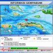 Gempa M 4,0 Terjadi di Wilayah Laut Seram