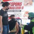 Vaksinasi Covid-19, 400 Orang Warga Datangi GVP Polda Maluku