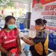 Atlet Remaja Pelatda PON Maluku Jalani Vaksinasi Dosis Kedua