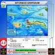 Gempa M 4,9 Guncang Ambon & Piru