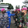 Danlantamal Ambon Lepas Satgas Pengamanan Pulau Terluar