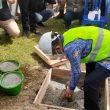 Wali Kota Ambon Letakkan Batu Pertama Pekerjaan Kawasan Kumuh Wainitu