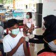 261 Warga Jalani Vaksinasi Merdeka Polda Maluku