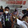 192 Warga Ikut Vaksinasi Merdeka Polda Maluku