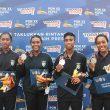 Dayung PON XX: Ada Lagi 1 Perak Untuk Maluku dari Rowing Quadruple Putri