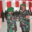 Sejumlah Personel Korem Binaiya Naik Pangkat